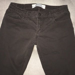 Abercrombie & Fitch Jeans - Abercrombie brown skinny jeans